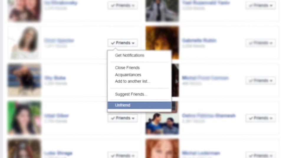 התנהגויות בפייסבוק