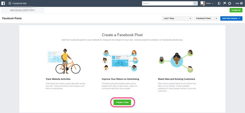 איך יוצרים פיקסל של פייסבוק